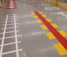 健身房私人定制地板