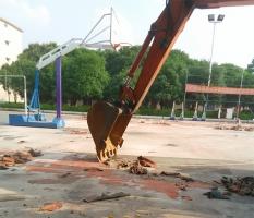 硅PU塑胶球场施工方案